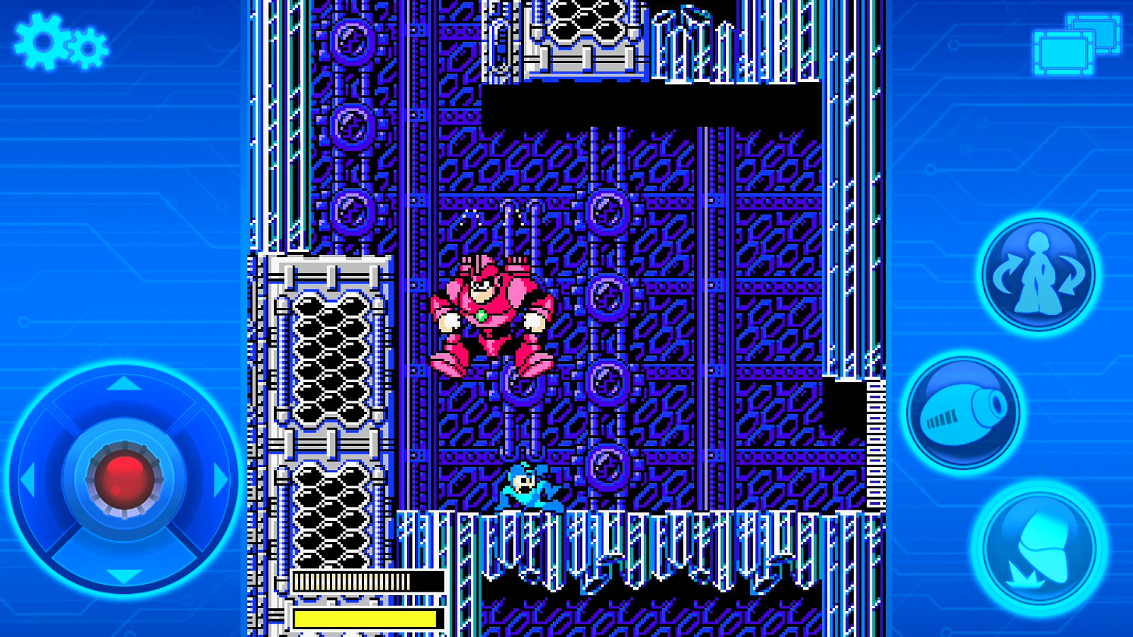 MEGA MAN 5 MOBILE- screenshot