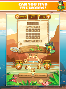 Word Pirates: Word Puzzle Game Screenshot