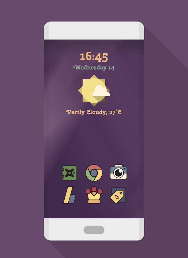FORMA RÉTRO - WIDGET KWGT- screenshot