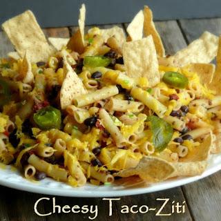 Cheesy Taco-Ziti.