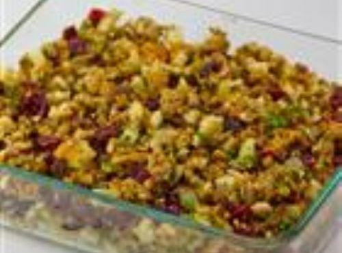 Sausage, Apple And Cranberry Stuffing Recipe