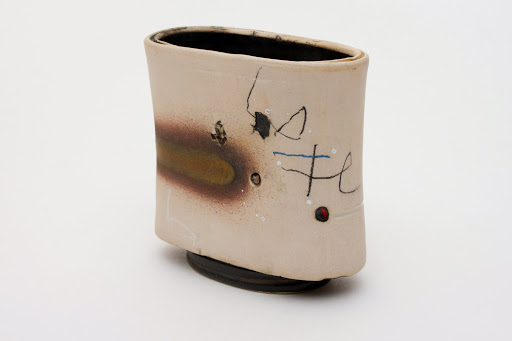 Sam Hall Small Porcelain Vessel 02