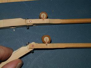 Photo: Les rouleaux sont voilés ou décollés par une mécanique mal conçue (Schwander ancienne)