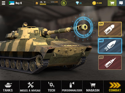 War Machines: Jeux de Guerre de Tank Gratuit  screenshots 3
