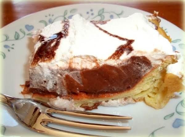 Mom's Chocolate Cream Puff Dessert