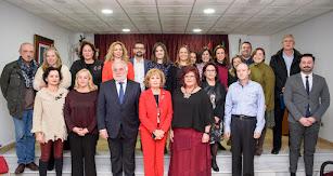 Junta de gobierno del Colegio de Enfermería.