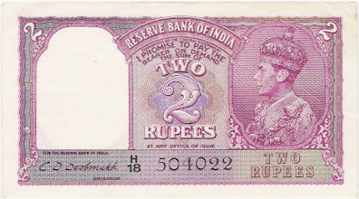 Photo: AI48a C D Deshmukh This note is signed by C D Deshmukh the first Indian Governor of the Reserve Bank of India.