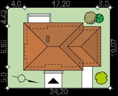 Libra CE - Rzut piwnicy
