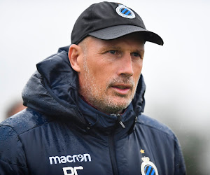 """Philippe Clement veut voir une réaction de ses joueurs contre Eupen : """"Se relever après ces deux coups pris à la tête"""""""