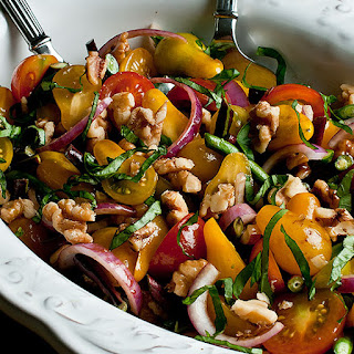 Hearty Heirloom Tomato Salad