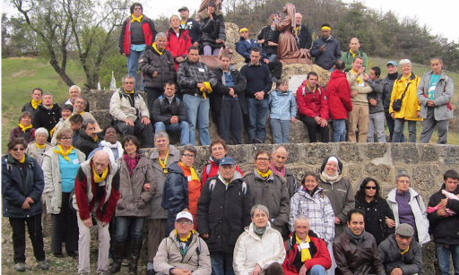 pèlerinage arche la merci projets communauté