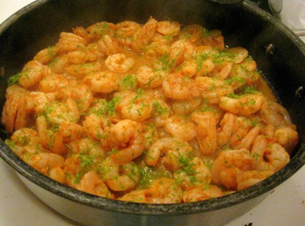 Heat oil in a large nonstick skillet over medium-high heat. Add shrimp mixture to...