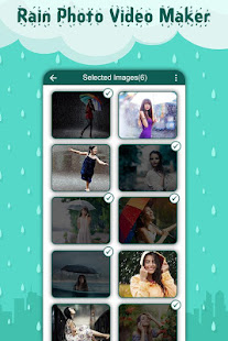 51046cd650e8 Rain Photo Video Maker with Music  Slideshow Maker - Apps en Google Play