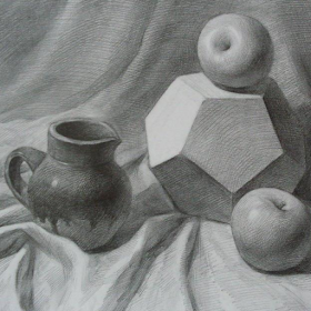 Drawing Lesson For Still Life