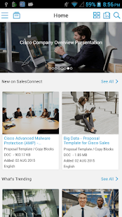 Cisco SalesConnect- screenshot thumbnail