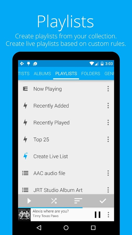 Music Player : Rocket Player- screenshot
