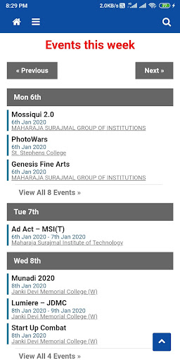 TheFestFever - All Delhi college events at 1 place  screenshots 5