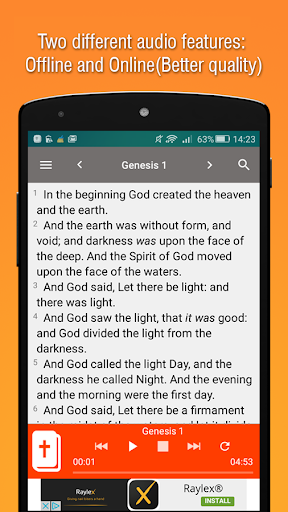 King James Bible - KJV Offline Free Holy Bible screenshot