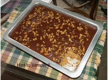 Peanut Butter Cake/Chocolate Mocha Frosting