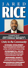 Photo: Rice for City Council palmcard 2011