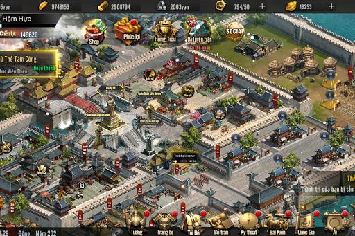 Tam Quu1ed1c Truyu1ec1n Ku1ef3 Mobile - Tam Quoc Truyen Ky 1.8.1 screenshots 5