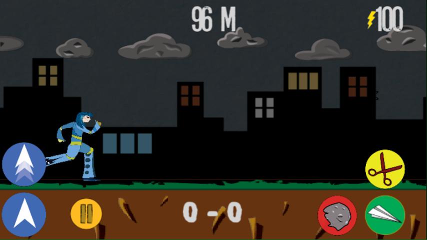 android Rock Paper Scissor! RUN! Screenshot 0