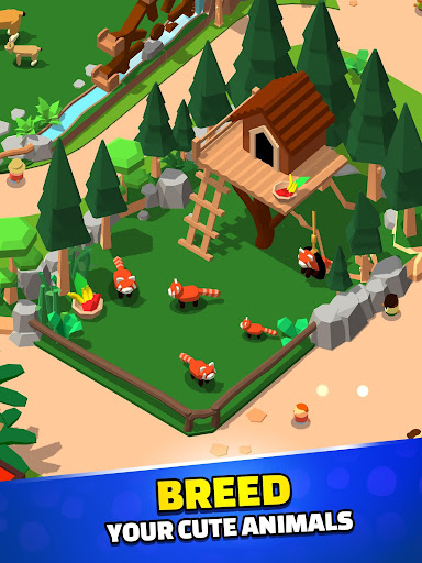 Idle Zoo Tycoon 3D screenshot 3