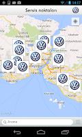 Screenshot of Volkswagen Servis Uygulaması