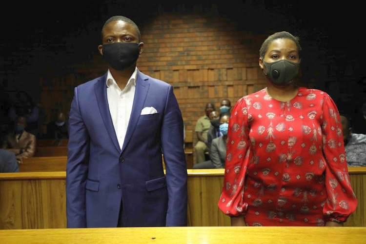 Shepherd Bushiri and his wife Mary during a previous court appearance. File image.