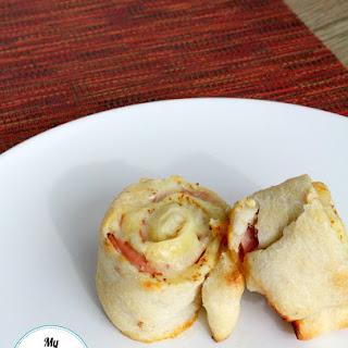 Grey Poupon Ham & Cheese Rollups