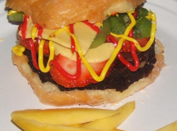 You've Got To Be Kidding Me Burger & Fries Dessert Recipe