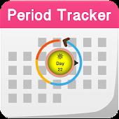 Period Calendar Daily Tracker