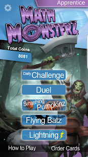 MathMonsterz Math Fun for Kids- screenshot thumbnail