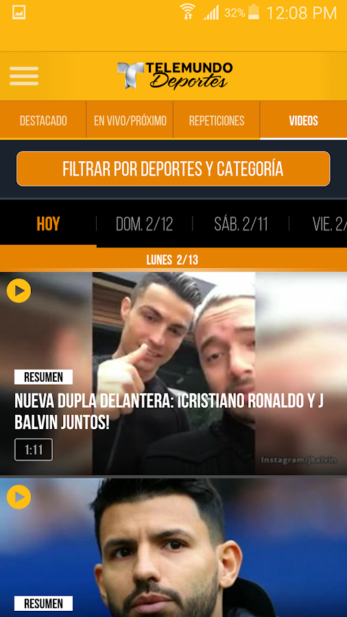 Telemundo Deportes - En Vivo- screenshot