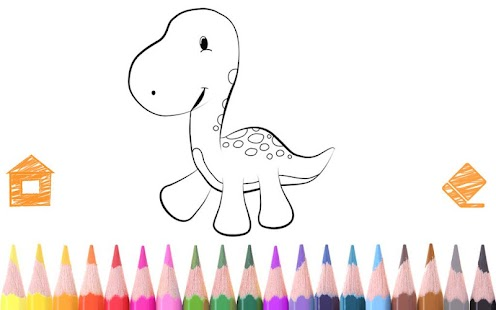 Dinosaur Coloring Book - Kids - Android Apps on Google Play