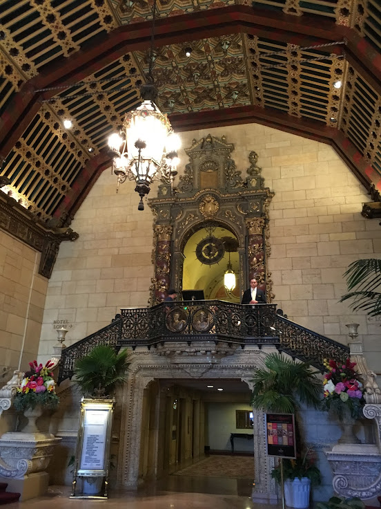 The lobby of the Millennium Biltmore.