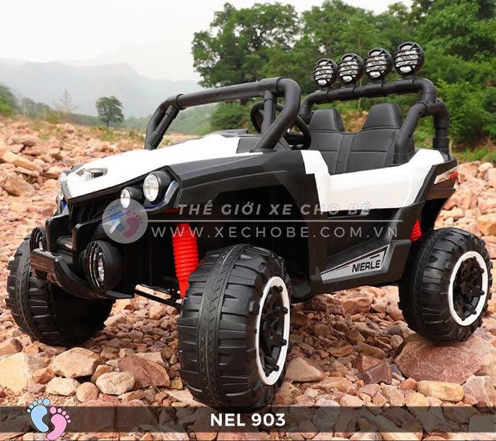 Xe ô tô điện địa hình NEL-903 4 động cơ 15