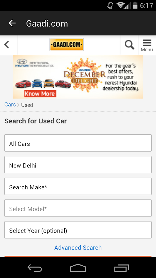 Buy Used Cars in India- screenshot