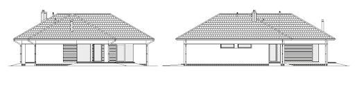 Dobry 2 - Elewacja tylna i boczna