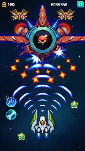 Galaxiga - Classic 80s Arcade apkmr screenshots 3