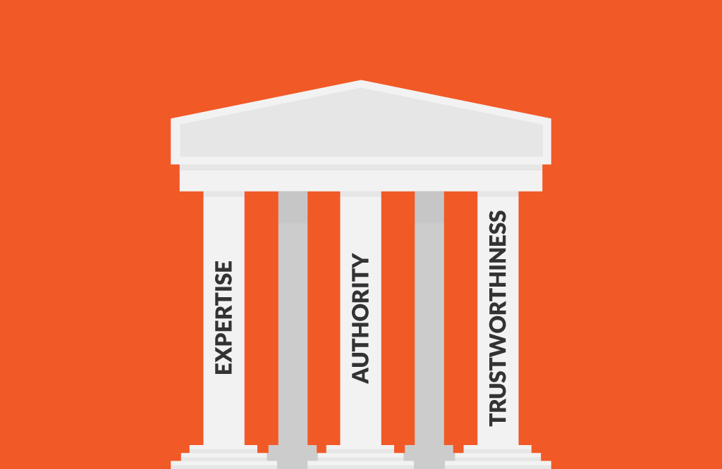 Nội dung phải thể hiện: Chuyên môn, Thẩm quyền, Độ tin cậy |  Bốn chấm
