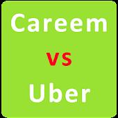 Tải Careem vs Uber miễn phí