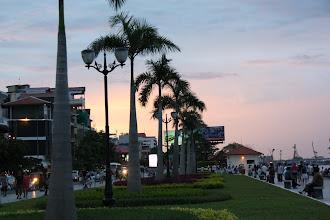 Photo: Year 2 Day 35 - Sundown in Phnom Penh