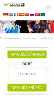 My-Codes Screenshot