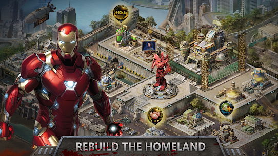 Avengers Wars: Heroes VS Zombies Mod Apk [Unlimited Money] 6