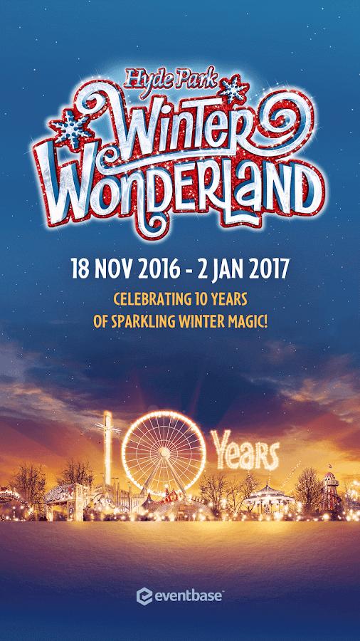 Hyde Park Winter Wonderland Android Apps On Google Play - Winter wonderland london map 2016