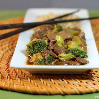 Slow Cooker Beef & Broccoli.
