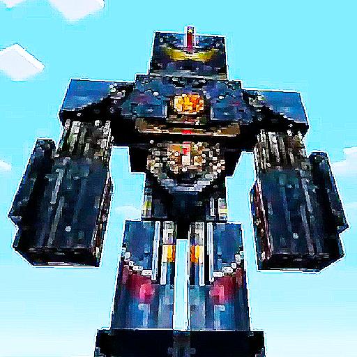Mega Mech MCPE Robot Addon (game)