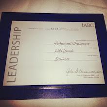 Photo: Our award!