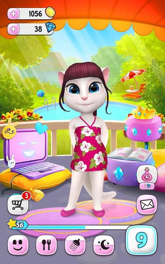 La Mia Talking Angela- screenshot